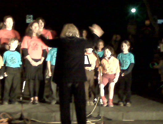 Altadena Children's Choir — with legs!