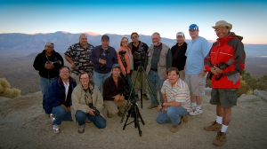 All us shutterbugs on the California Photography Workshop in the Alabama Hills